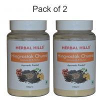 Herbal Hills Hingvastak Churna 100 gms powder (Pack of 2)